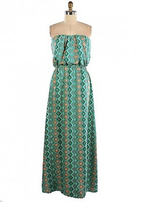 Printed Maxi Dress For Holidays