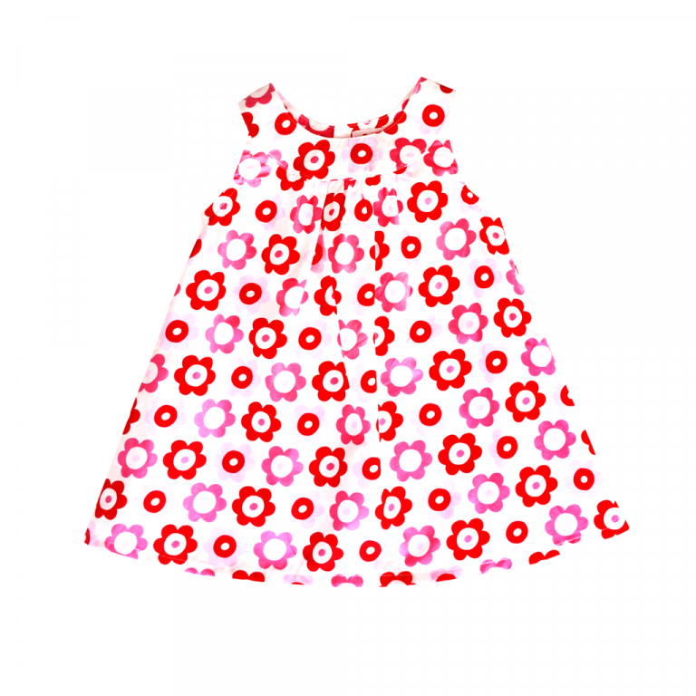 Pop Flower Baby Dresses & Pants Set