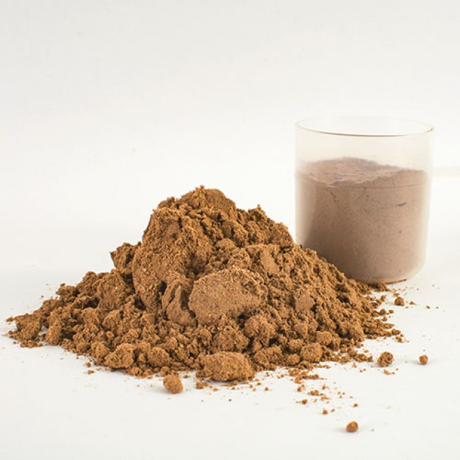 protein powder and water