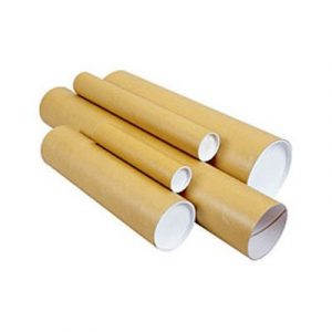 large cardboard tubes