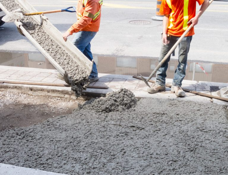 The Work of Concrete Contractors